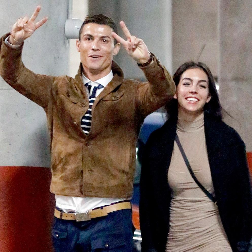 Cristiano Ronaldo and his girlfriend Georgina Rodriguez attending Alejandro Sanz's concert on December 5, 2016 in Madrid, Spain.