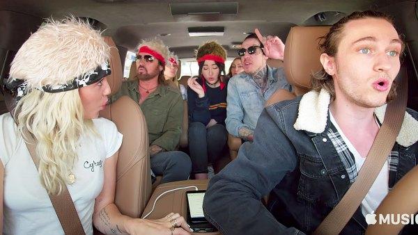 Cyrus Family carpool karaoke Achy Breaky Heart