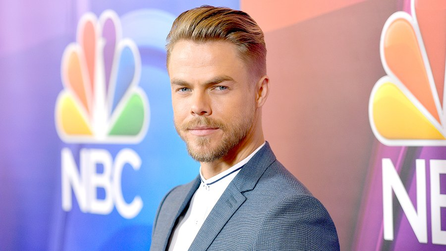 Derek Hough at the NBCUniversal Summer TCA Press Tour at The Beverly Hilton Hotel on August 3, 2017 in Beverly Hills, California.