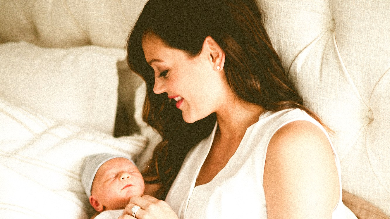 Desiree Hartsock and baby Asher