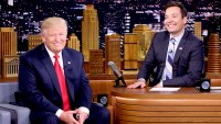 Donald Trump during an interview with host Jimmy Fallon on September 15, 2016