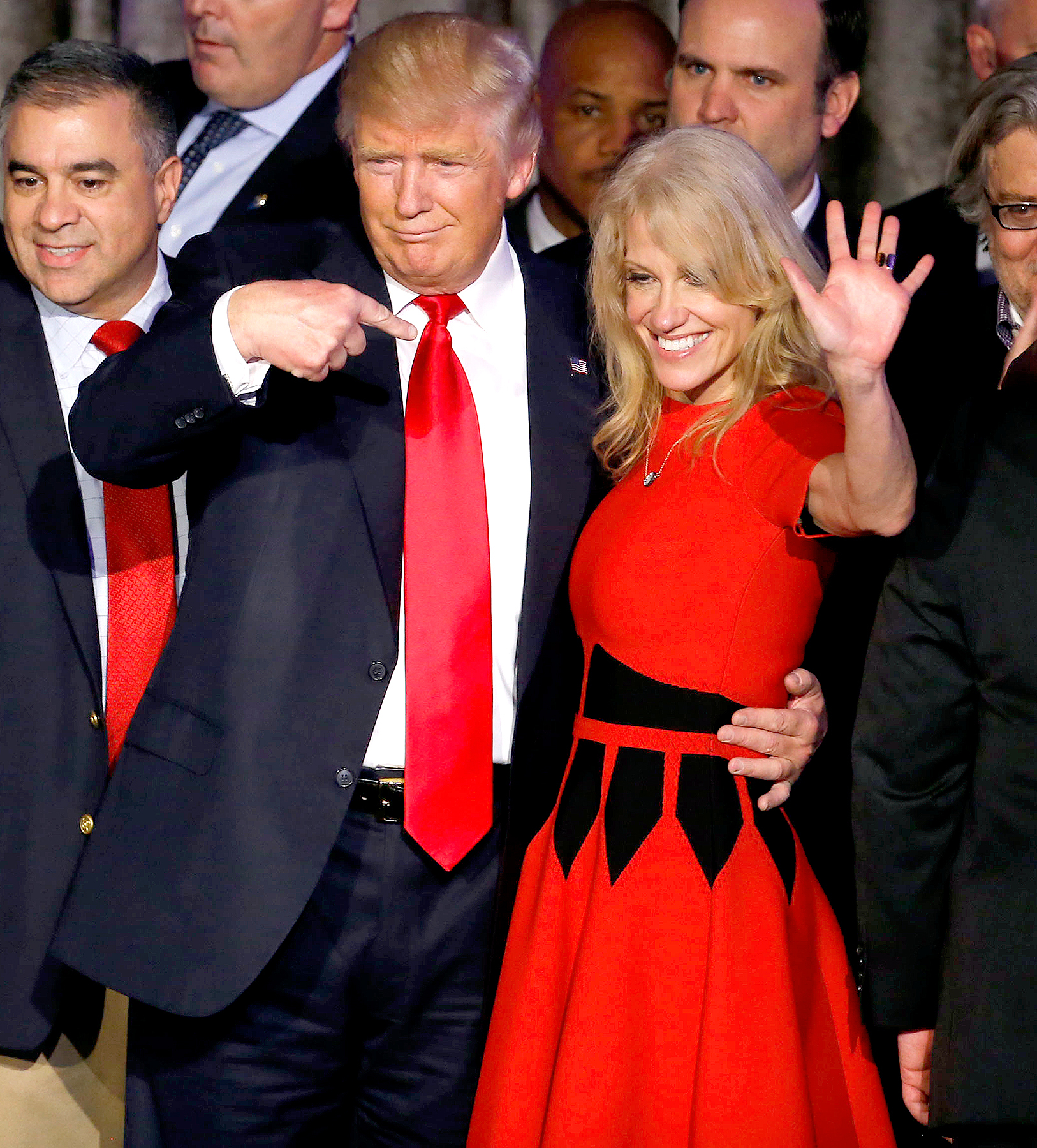 Kellyanne Conway Talks Trump, Cabinet Picks With Ties to Russia