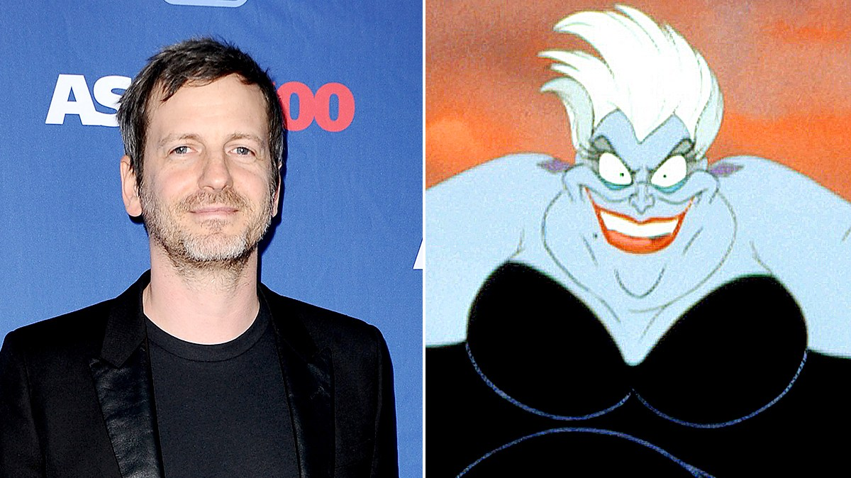 Dr. Luke and Usula from 'The Little Mermaid'