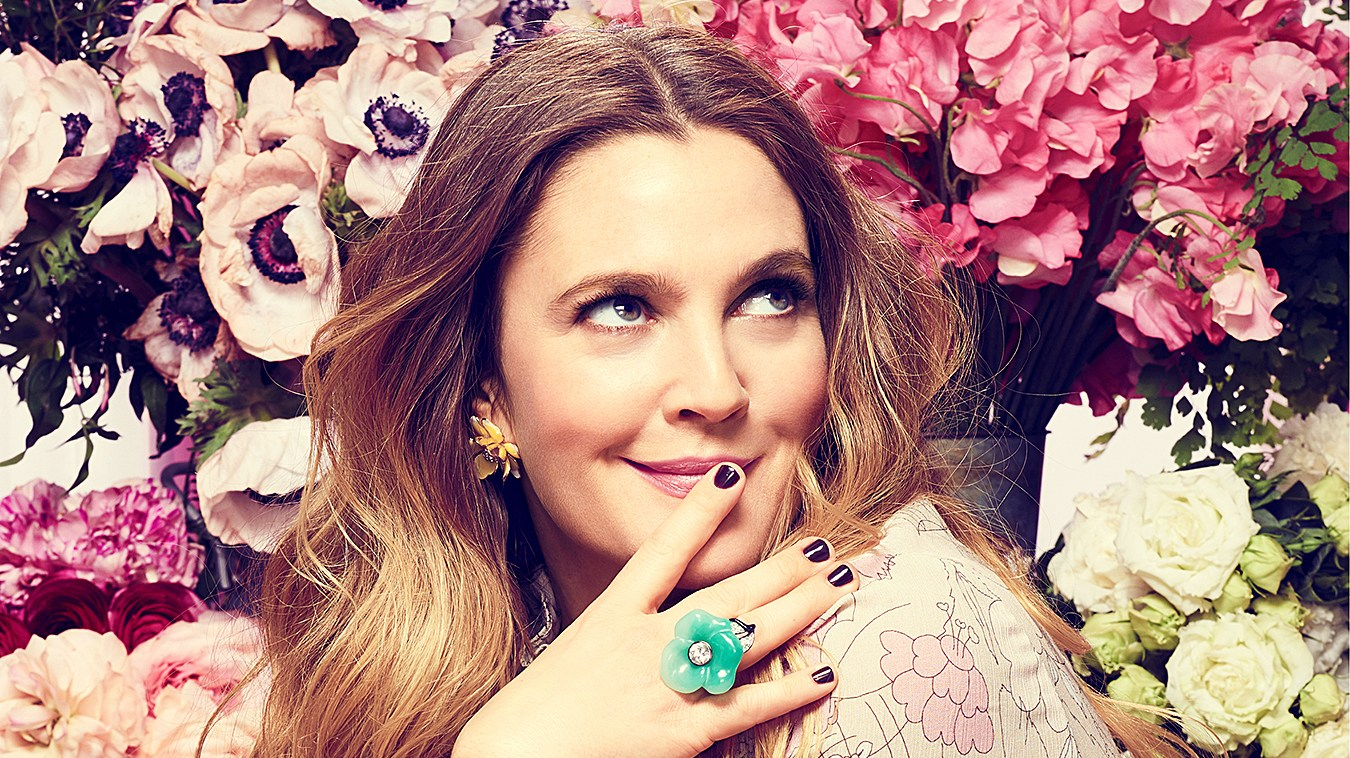 Drew Barrymore in Good Housekeeping