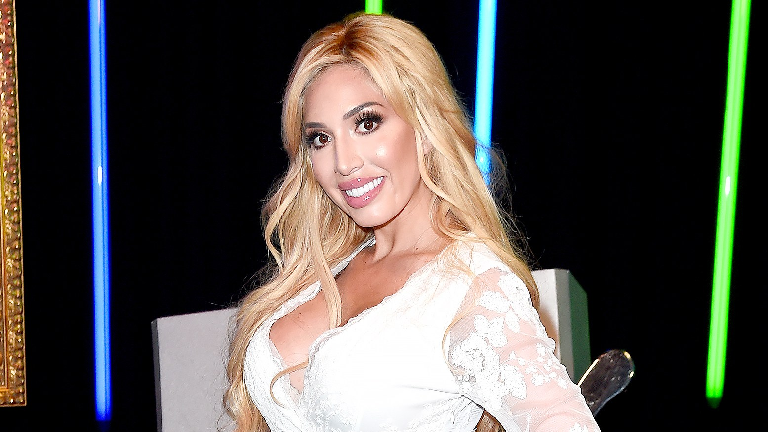 """Farrah Abraham attends the photocall of MTV's new show """"Single AF"""" at MTV London on June 25, 2017 in London, England."""