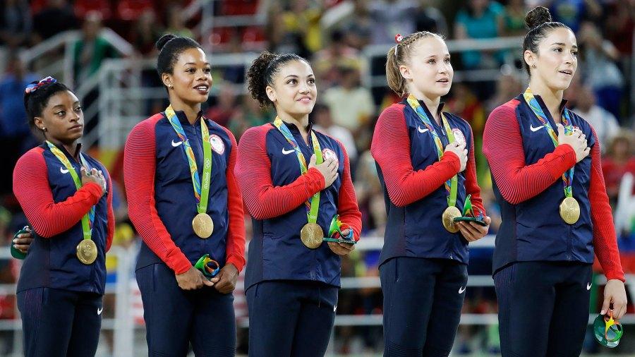 Gabby Douglas among the Final Five at Rio Olympics.
