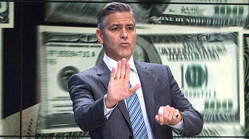 George Clooney (center) stars as Lee Gates in TriStar Pictures' MONEY MONSTER