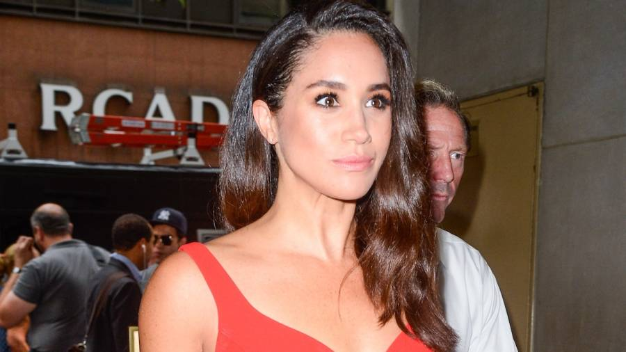 Meghan Markle attends Pippa Middleton's wedding reception