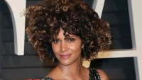 Halle Berry Poses Braless in Sheer Top, Twitter Reacts