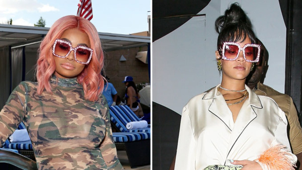 3a0883dc944 Blac Chyna and Rihanna Wore the Same Pink Gucci Sunglasses  Who Wore It  Best
