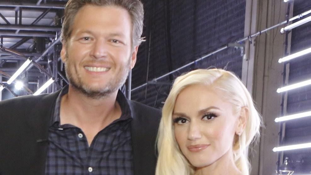 Blake Shelton gushed about Gwen Stefani!