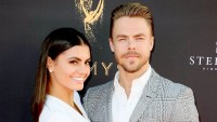 Hayley Erbert and Derek Hough attend the Television Academy's Choreography Peer Group Celebration at Saban Media Center on August 27, 2017 in North Hollywood, California.