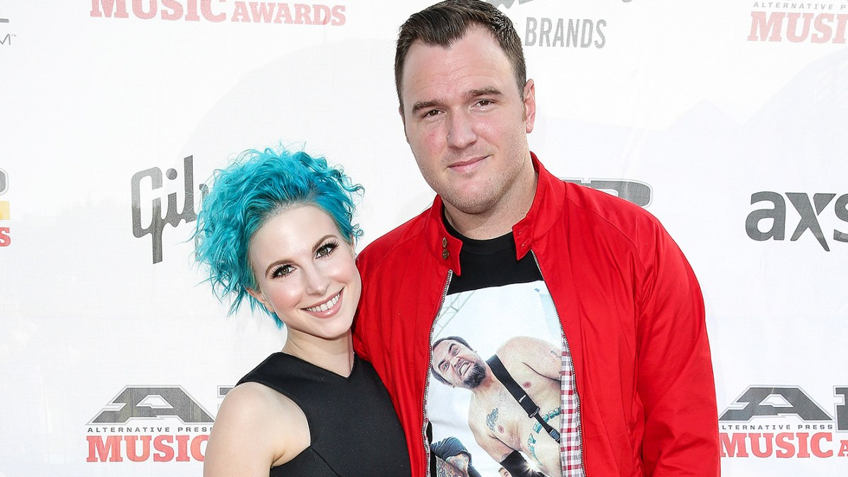 Paramore's Hayley Williams and New Found Glory's Chad Gilbert Split After One Year of Marriage