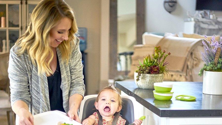 Haylie Duff with daughter Ryan in Studio City, CA.