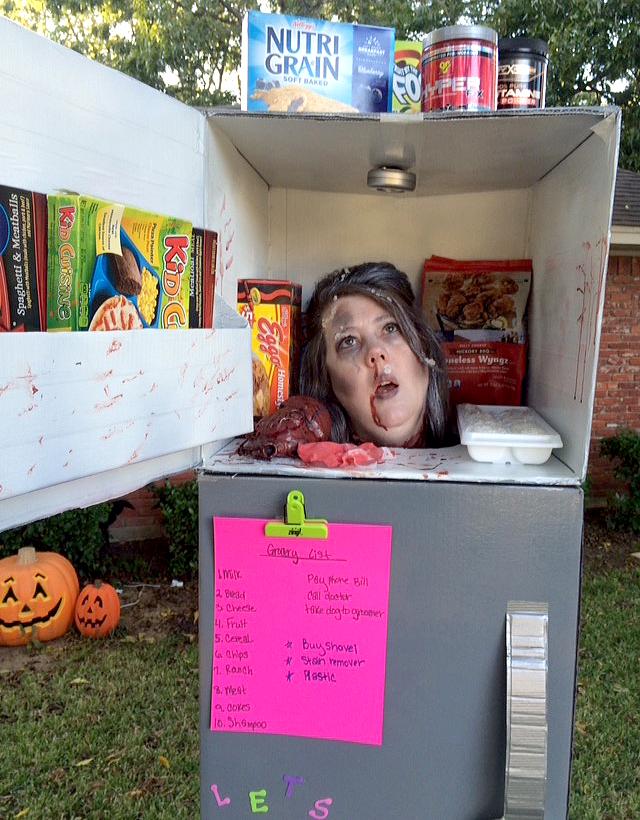 refrigerator costume. refrigerator costume i