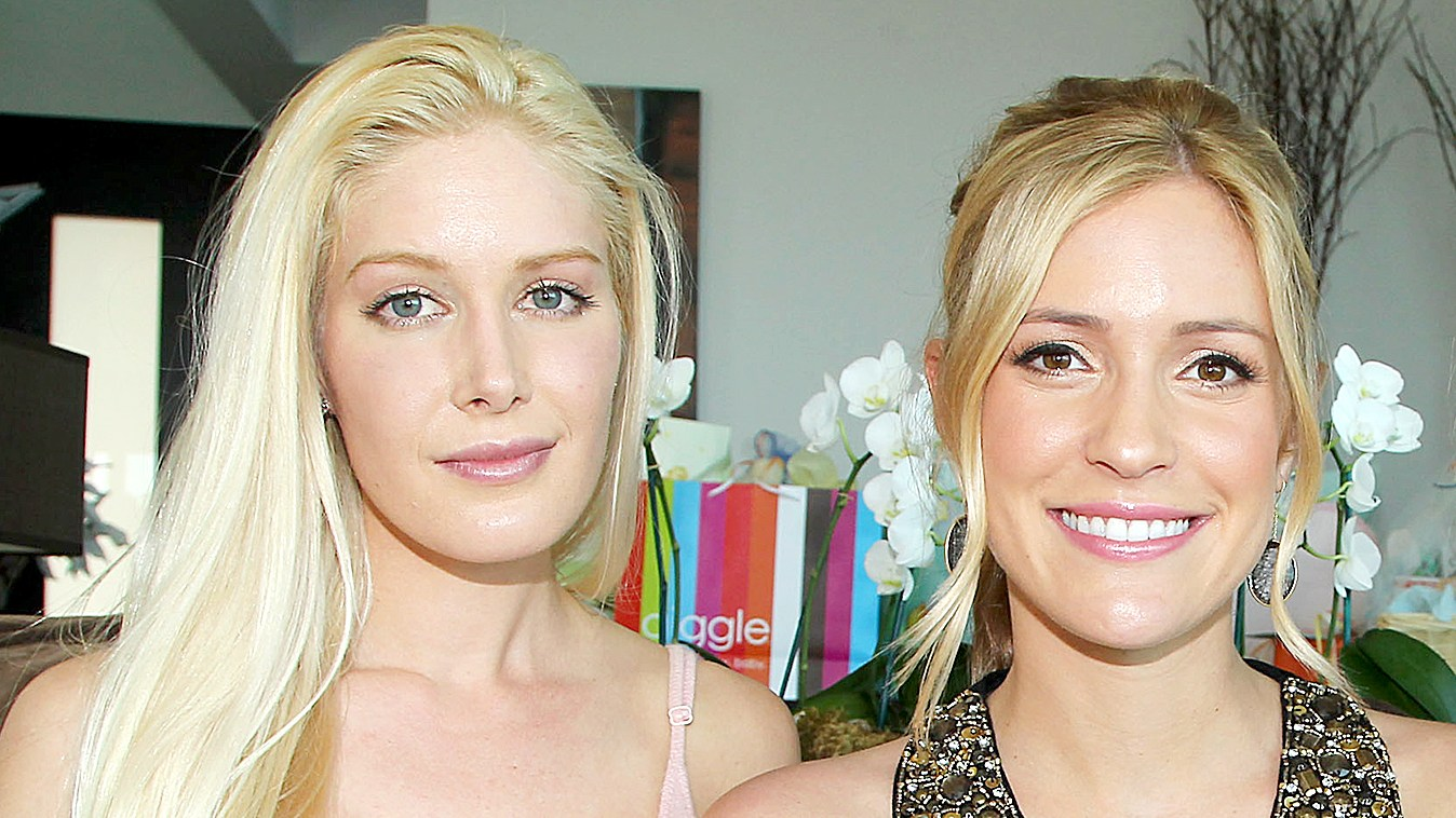 Heidi Montag (left) and Kristin Cavallari