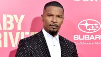 Jamie Foxx arrives at the premiere of 'Baby Driver' at Ace Hotel on June 14, 2017 in Los Angeles, California.
