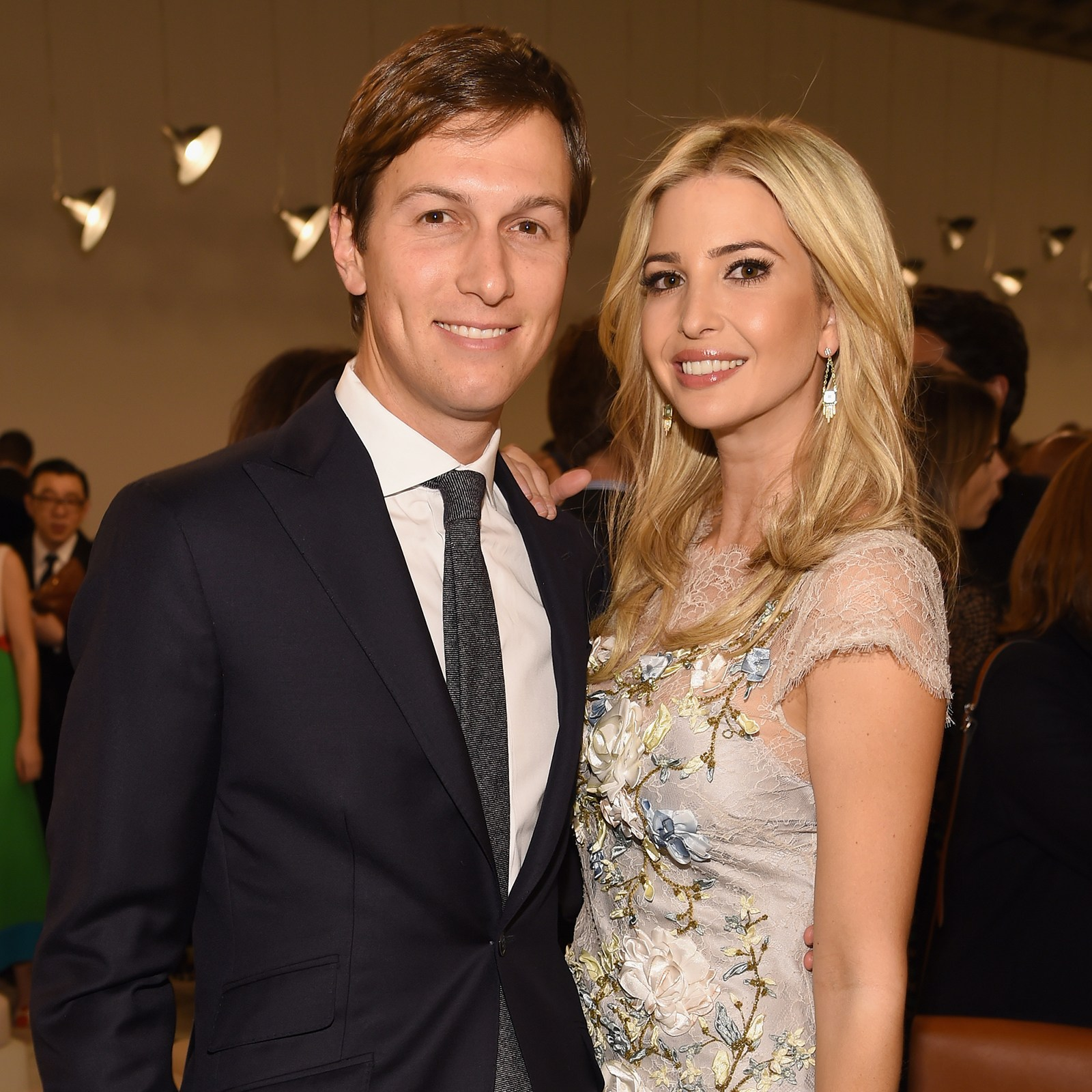Image result for photo of kushner and ivanka