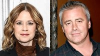 Jenna Fischer and Matt LeBlanc