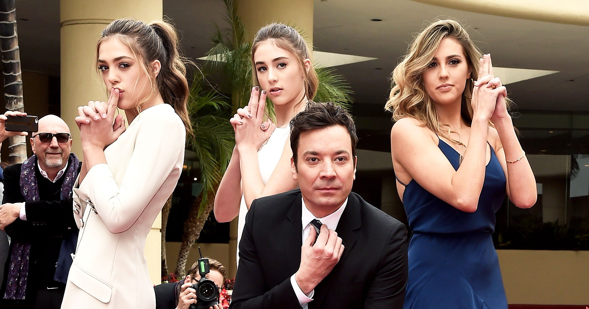 Sylvester Stallone's Three Daughters Roll Out the Red Carpet for the 2017 Golden Globes