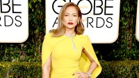 Jennifer Lopez attends the 73rd Annual Golden Globe Awards.