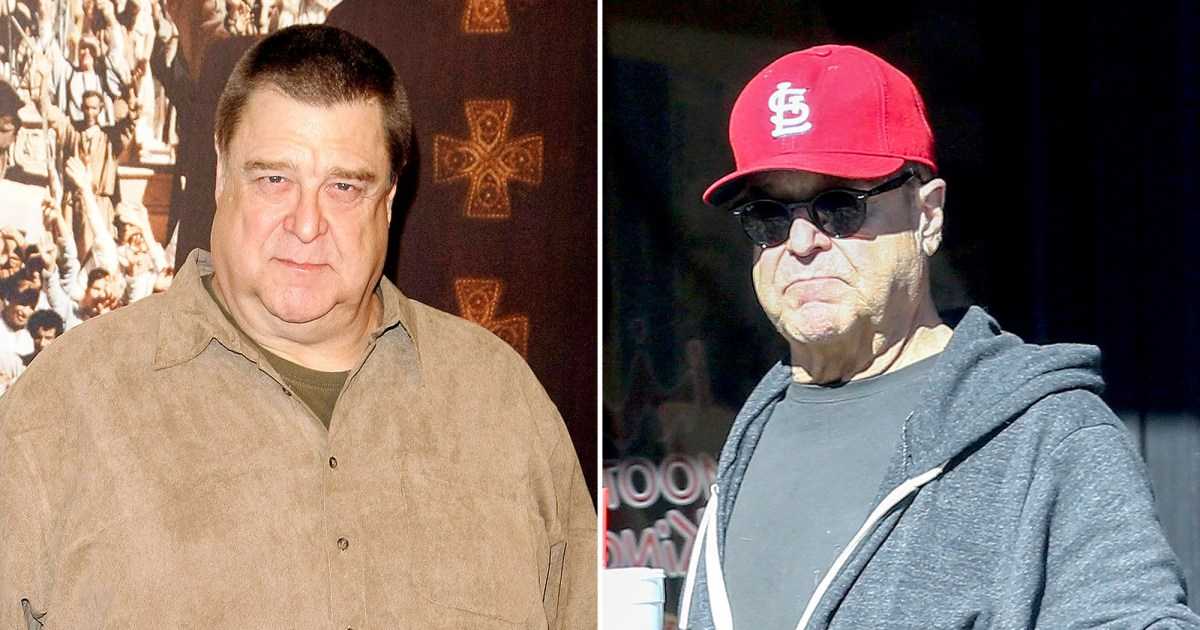 John Goodman Is Nearly Half His Former Size in New Orleans