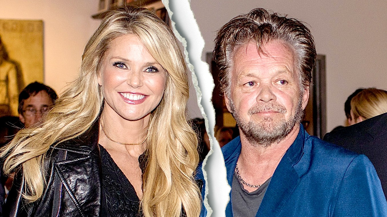 "Christie Brinkley and John Mellencamp attend Mr. Mellencamp's ""The Isolation Of Mister"" art exibition opening at the ACA Galleries on October 21, 2015 in New York City."