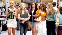 Arielle Kebbel, Brittany Snow, Sophia Bush, and Ashanti in 2006's John Tucker Must Die.