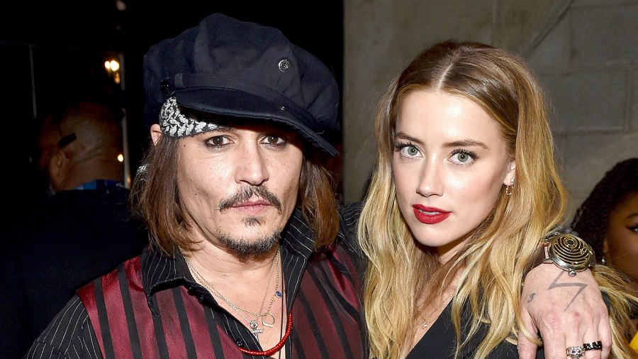 Johnny Depp and Amber Heard attend The 58th GRAMMY Awards at Staples Center on February 15, 2016 in Los Angeles, California.