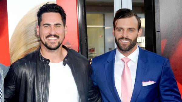 """Josh Murray and Robby Hayes arrive for the Premiere Of Warner Bros. Pictures' """"Unforgettable"""" held at TCL Chinese Theatre on April 18, 2017 in Hollywood, California."""