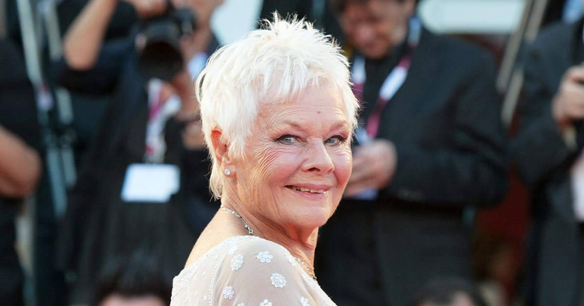 Dame Judi Dench Gets a Tattoo For Her 81st Birthday: Pics
