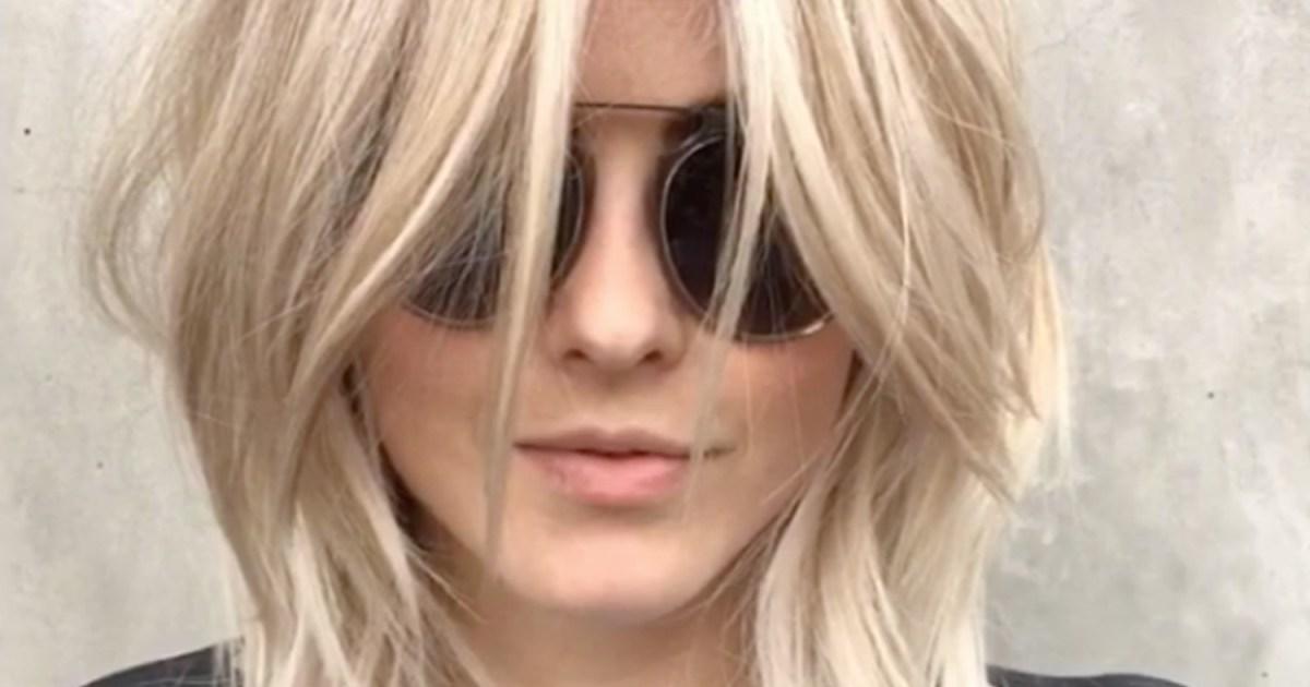 Julianne Hough Debuts Shag Haircut Video