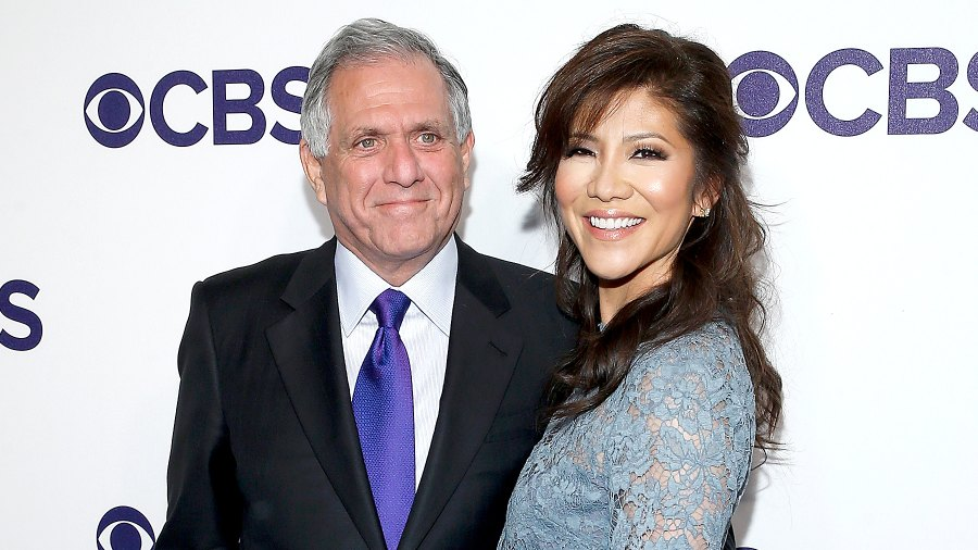 Leslie Moonves and Julie Chen attend the CBS Upfront at The Plaza Hotel in New York City on May 17, 2017.