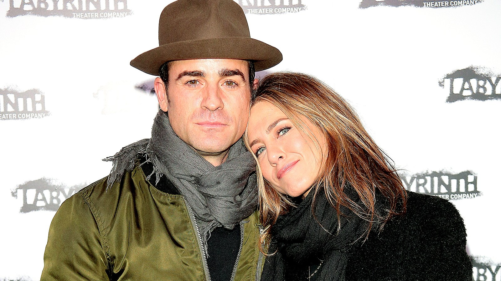 Justin Theroux and Jennifer Aniston attend the Celebrity Charades Goes Medieval Gala 2015 at Capitale on November 16, 2015 in New York City.