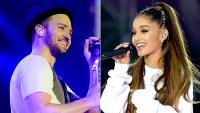 Justin Timberlake and Ariana Grande