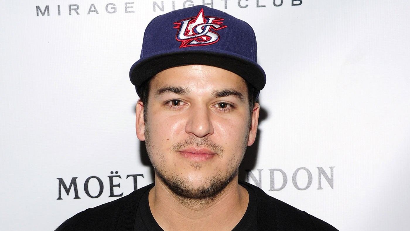 Rob Kardashian arrives at 1 OAK Nightclub at The Mirage Hotel & Casino back in 2013