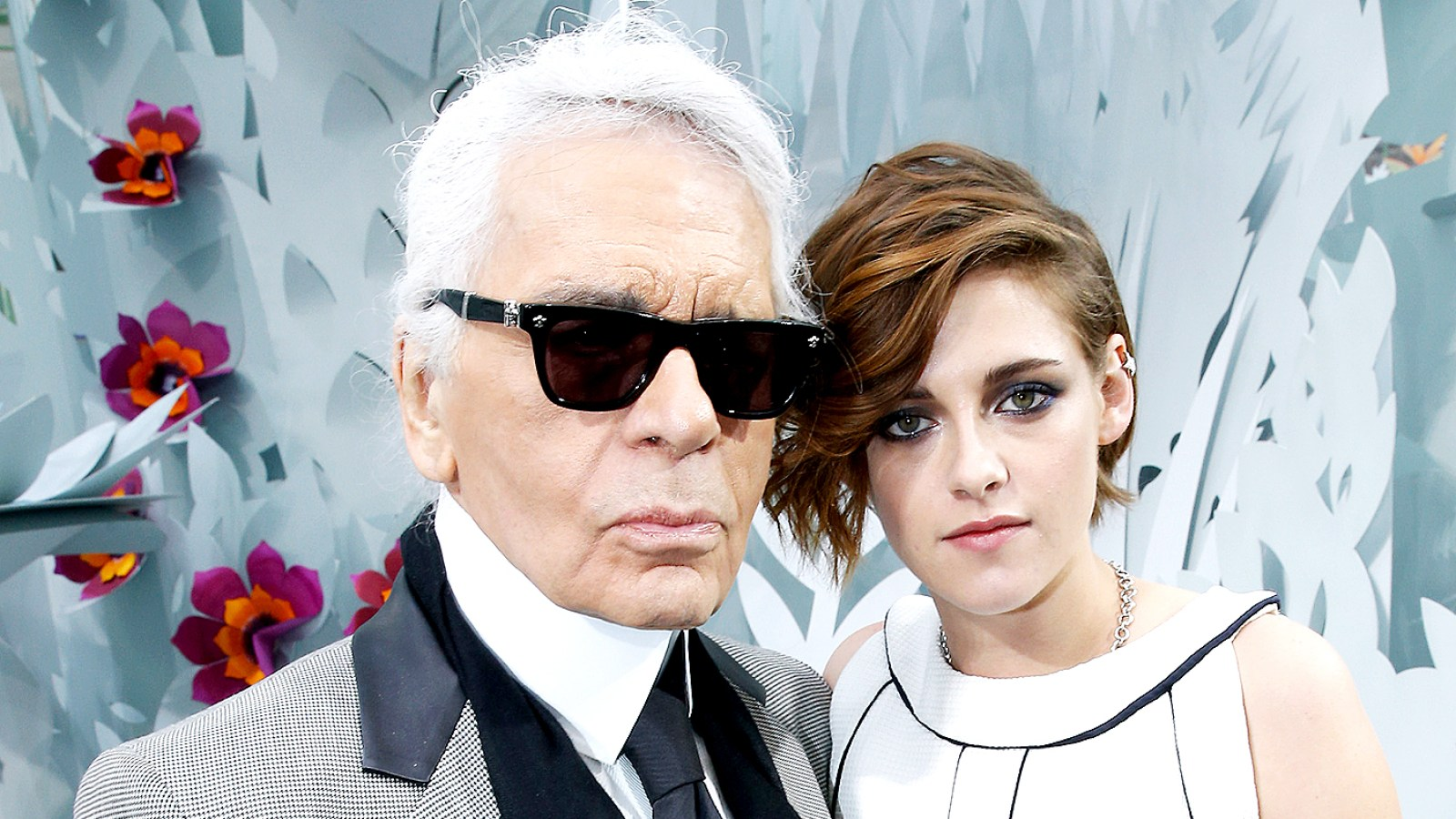 Kristen Stewart Compliments Karl Lagerfeld   He Is Who He Is for a Reason  e98296527e9f