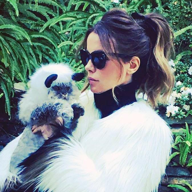Kate Beckinsale Cat