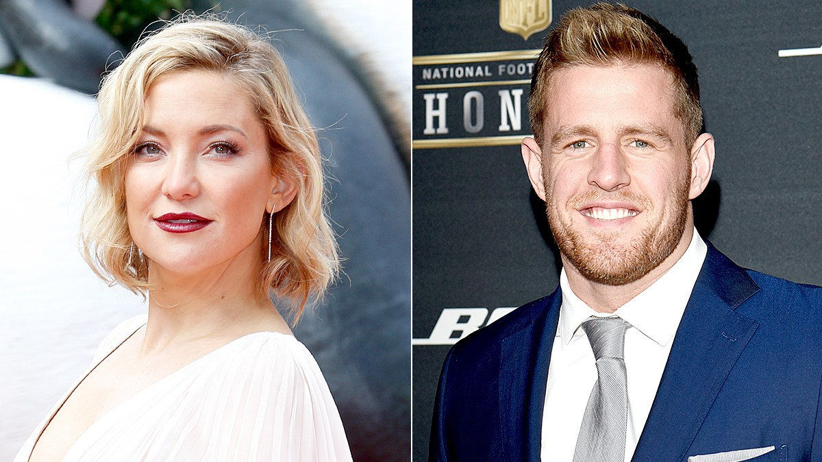 Kate Hudson and J.J. Watt