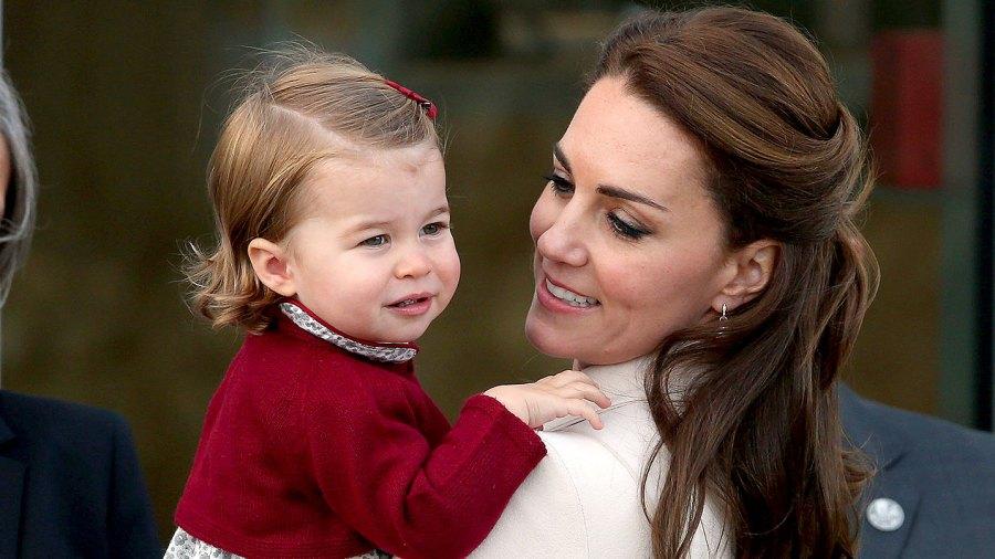 Catherine, Duchess of Cambridge and Princess Charlotte