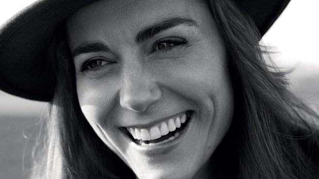 Kate Middleton on the front cover of Vogue magazine