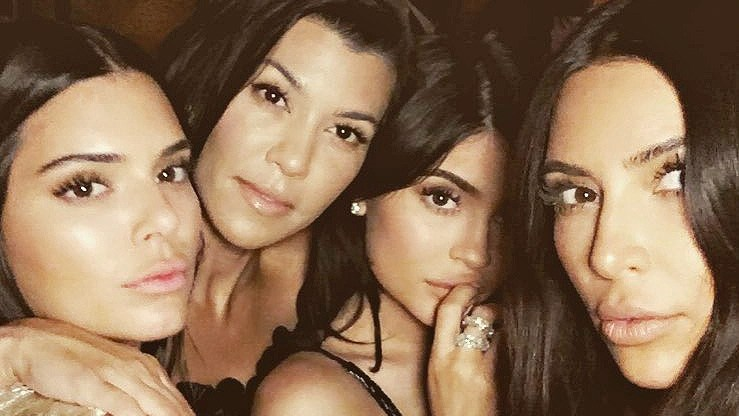 Kendall Jenner, Kourtney Kardashian, Kylie Jenner, Kim Kardashian, Keeping Up with the Kardashians 10 Year Anniversary