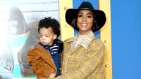 "Kelly Rowland and Titan Rowland attend the premiere Of Universal Pictures' ""Sing"" on December 3, 2016 in Los Angeles, California."