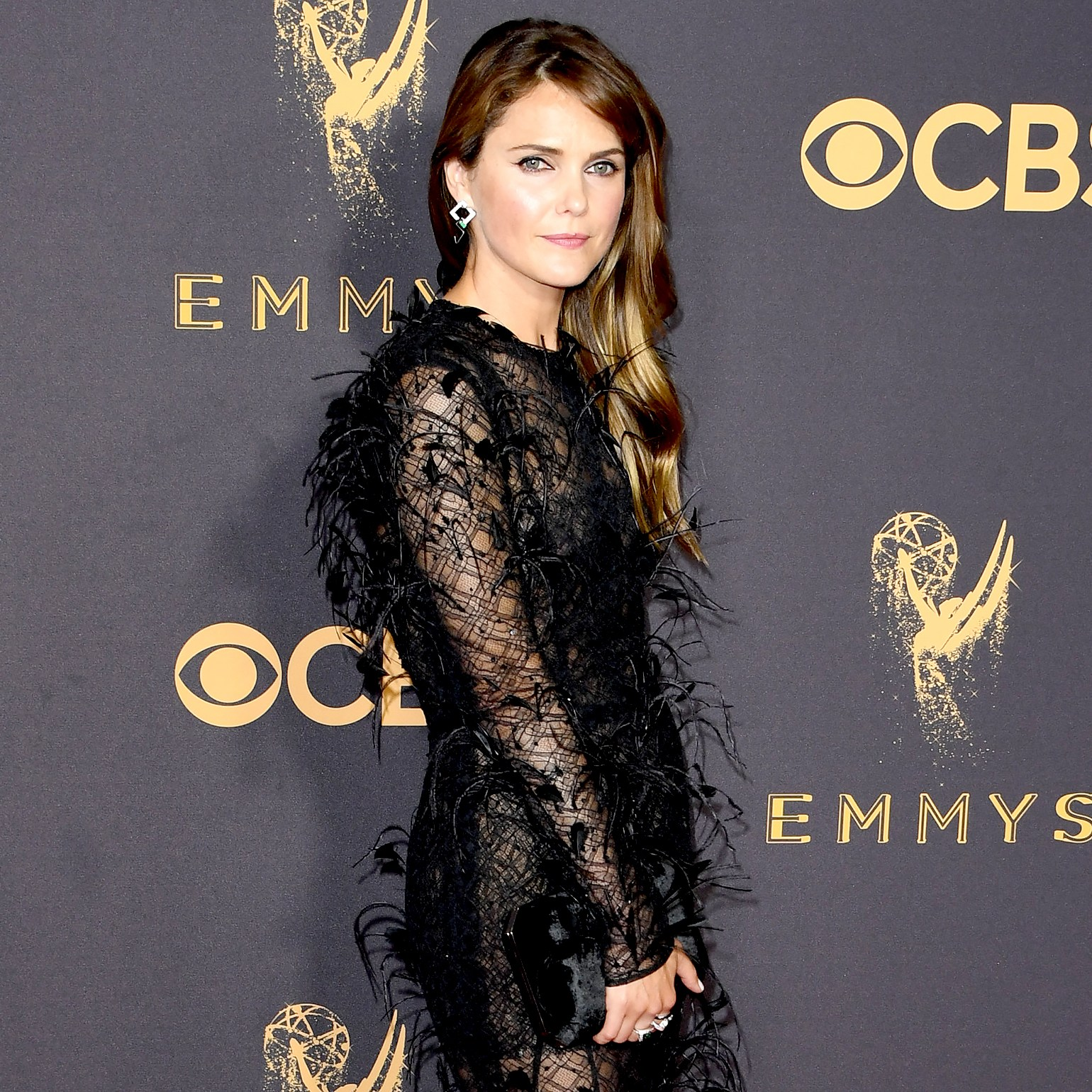 Keri Russell arrives for the 69th Emmy Awards at the Microsoft Theatre on September 17, 2017 in Los Angeles, California.