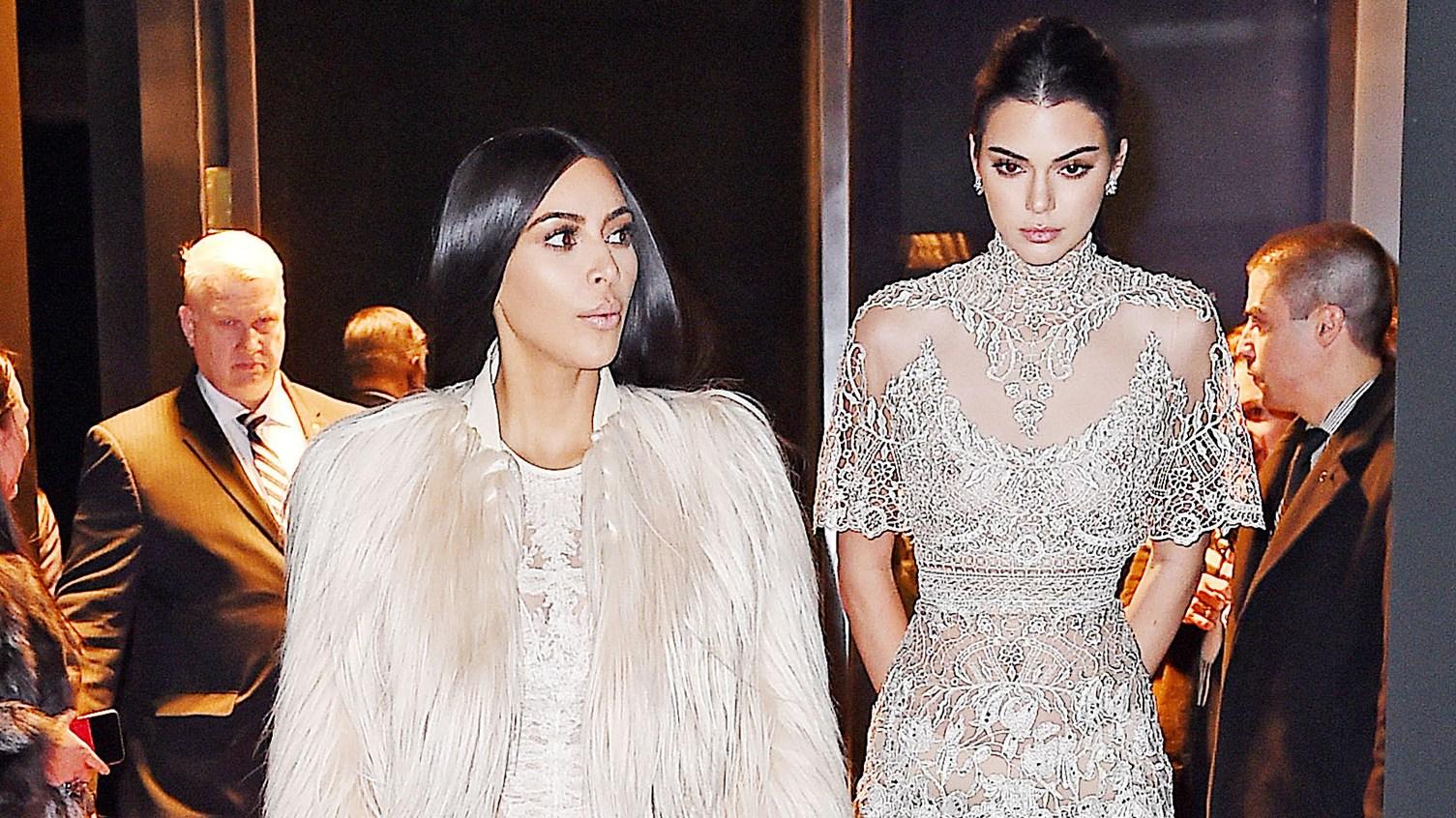 Kim Kardashian Kendall Jenner Ocean Eight