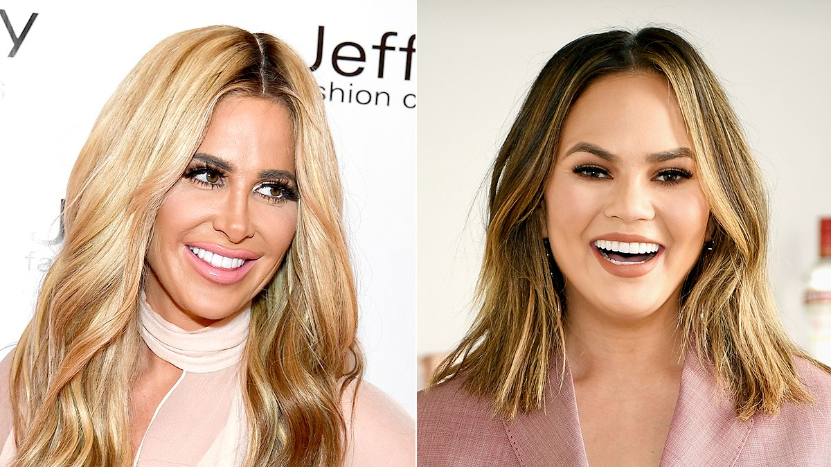 Kim Zolciak and Chrissy Teigen