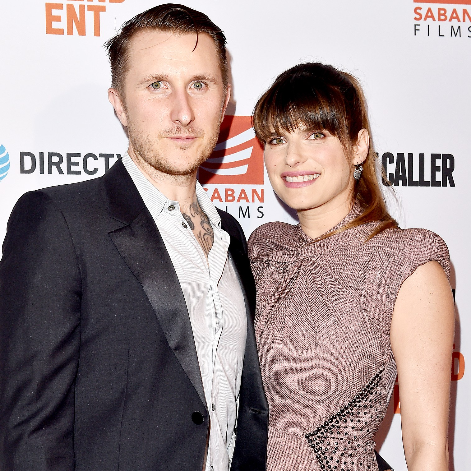 Lake Bell and husband Scott Campbell arrive at the premiere of 'Shot Caller' at The Theatre at Ace Hotel on August 15, 2017 in Los Angeles, California.
