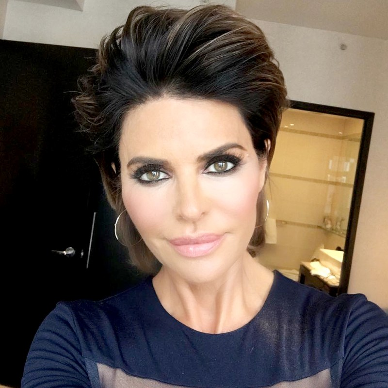 Lisa rinna changes her hairstyle for first time in 20 years urmus Choice Image