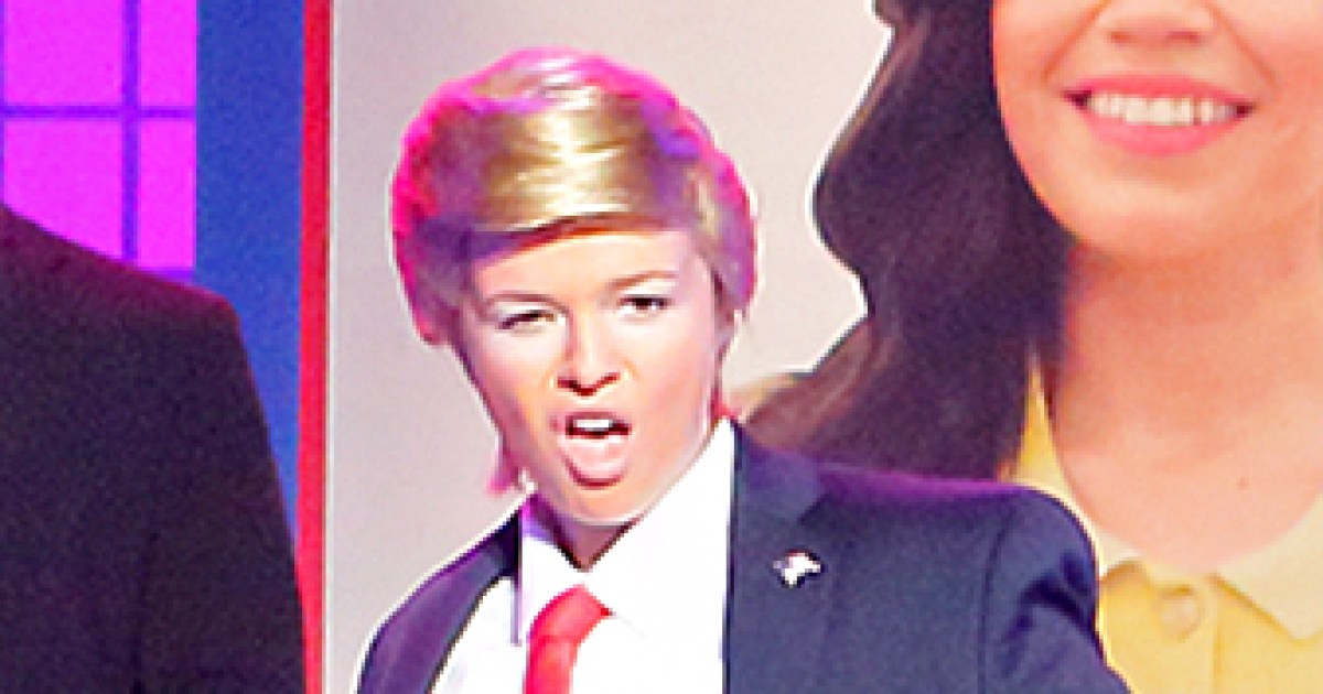 Amber Tamblyn Becomes Donald Trump on Lip Sync Battle: Watch