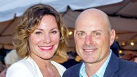 Luann de Lesseps and Tom D'Agostino Jr. attend the 23rd Annual Watermill Summer Benefit at The Watermill Center on July 30, 2016 in Water Mill, New York.